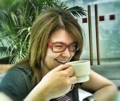 Sonia Rguez, autora del blog Café de Papel