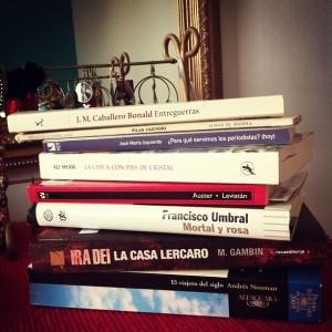 Novela, poesía, ensayo...  De todo un poco para estas vacaciones. Imagen: Sonia Rodríguez.