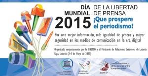 Día Internacional de la Libertad de Prensa.