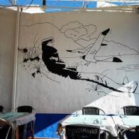Detalle de La Terraza del Marinero, en Agaete
