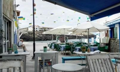 Mesitas blancas de Puerto Dulce, en El Cotillo
